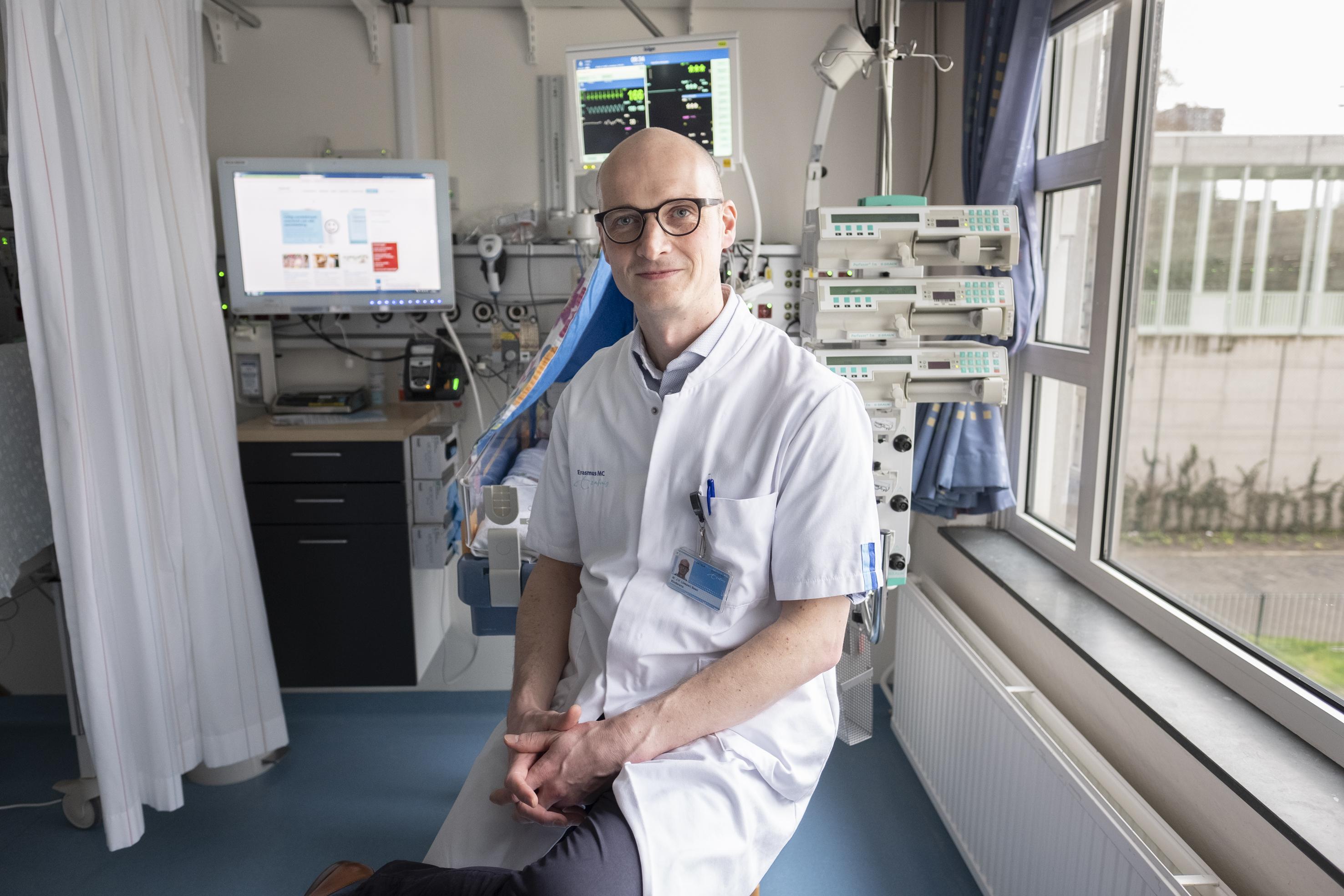 Kinderarts-neonatoloog Jasper Been
