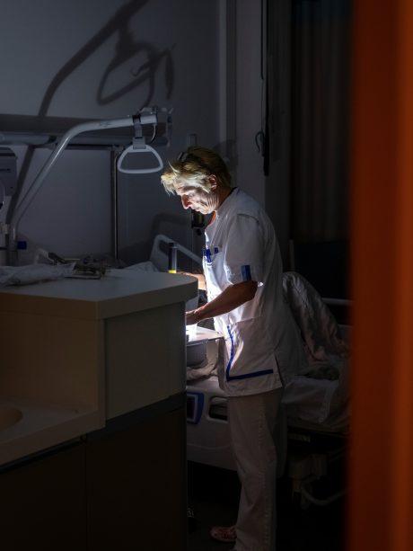 Verpleegkundige in de nachtdienst